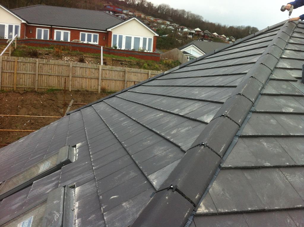 New Roof Llandulas Conwy North Wales North Wales