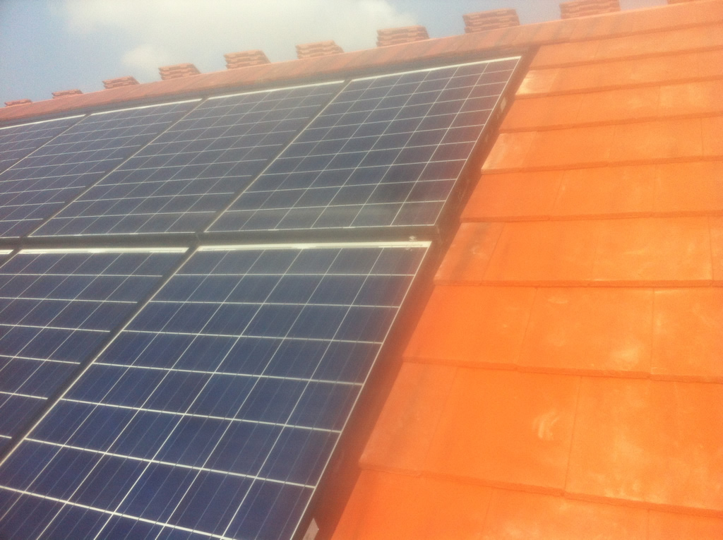 New Roof Amp Solar Panels Hartford Cheshire North Wales
