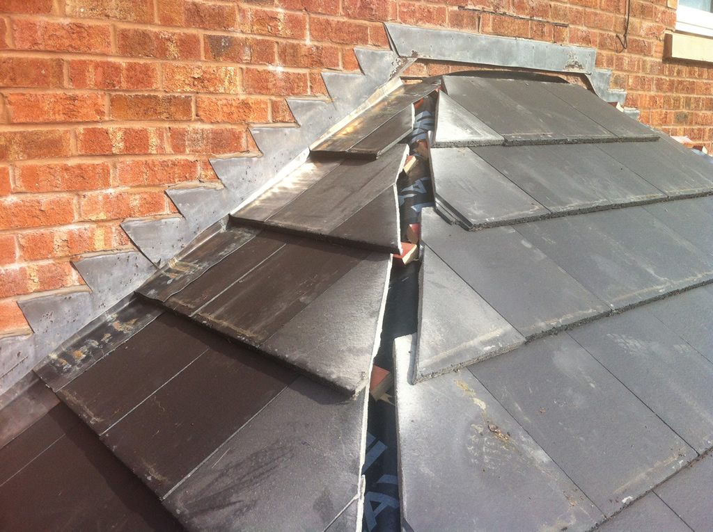 Bay Window Roof St Asaph North Wales Roofers Moore Roofing